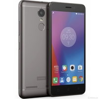 "LENOVO K6 NOTE (K53a48)  dark grey, 5.5"" FHD display, Dual Sim, LTE, Qualcomm Snapdragon 430 octa-core, 3GB RAM, 32GB internal storage,16MP PDAF with dual CCT flash, 8MP fixed focus front camera, fingerprint, 4000mAh battery, Android 6.0"