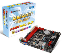 MB Biostar H61MLV3, Socket: Intel® 1155, Chipset: Intel® H61, 1600MHz DDR3