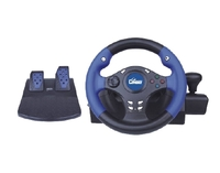 Avatec CGP-7029 for PC and PlayStation 2 Wheel steering for PC 3 in 1, acceleration and brake control pedals, gearbox control