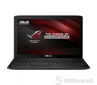 ASUS Gaming NB GL552VX-DM272T (FHD), Intel Core i7-6700HQ QuadCore, Skylake (2.6-3.5GHz, 6M Cache, 45W), 4GB DDR4 (2 mem.slots free),  1TB 5400rpm, DVD SuperMulti, NVIDIA GeForce GTX 950M (N16P-GT) 2GB DDR5,Red-Backlit Keyboard, RoG chassis, HM170 Ex
