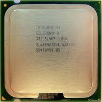 Intel® Celeron® D Processor 331 (256K Cache, 2.66 GHz, 533 MHz FSB)  Tray