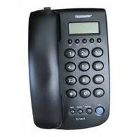 Telefunken TLF T-5012 Corded telephone,Big LCD display, Caller ID, 38 incoming and 5 outgoing calls memory, 3 way locking system, Speakerphone