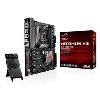 ASUS Gaming Series MAXIMUS VIII EXTREME, Intel® Socket 1151, Chipset: Intel® Z170, DDR4, 3866 MHz