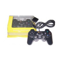X5TECH Game Pad TP-U626B, Dual Shock Vibration, USB port, 8 way directional buttons + 12 fire buttons + 2 analog sticks, vibration engines, dual vibration, The appearance is the same as Sony Playstation 2 original gamepad, Cable length: 1.5 meters, C
