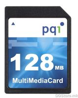 MULTIMEDIA CARD 128MB HI/SPEED