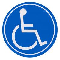 Налепница - Лица со инвалидитет
